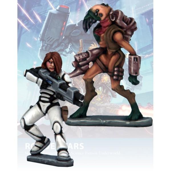 Rogue Stars - Mercenaries