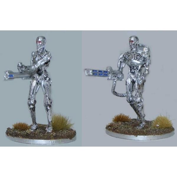 Terminator Genisys - The Miniatures Game - Heavy Weapon Endoskeleton