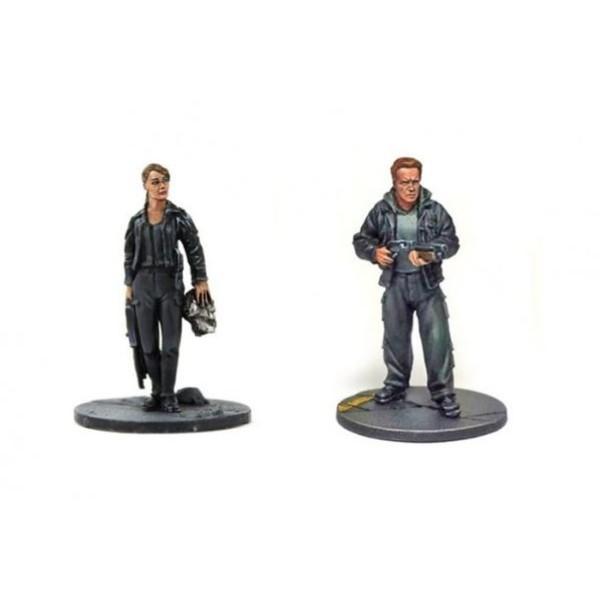 Terminator Genisys - The Miniatures Game - 1984 Sarah and Guardian