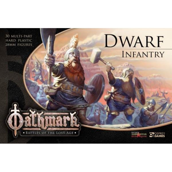 Oathmark - Dwarf Infantry - Plastic Boxed Set