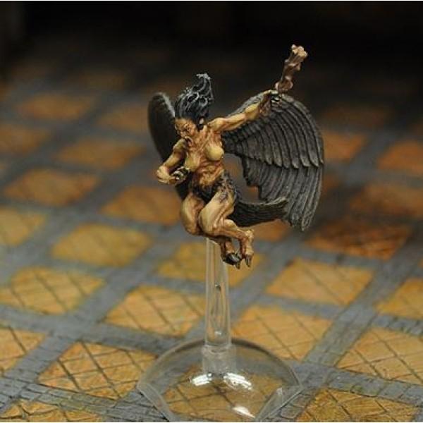Otherworld Miniatures - Harpy v2, flying
