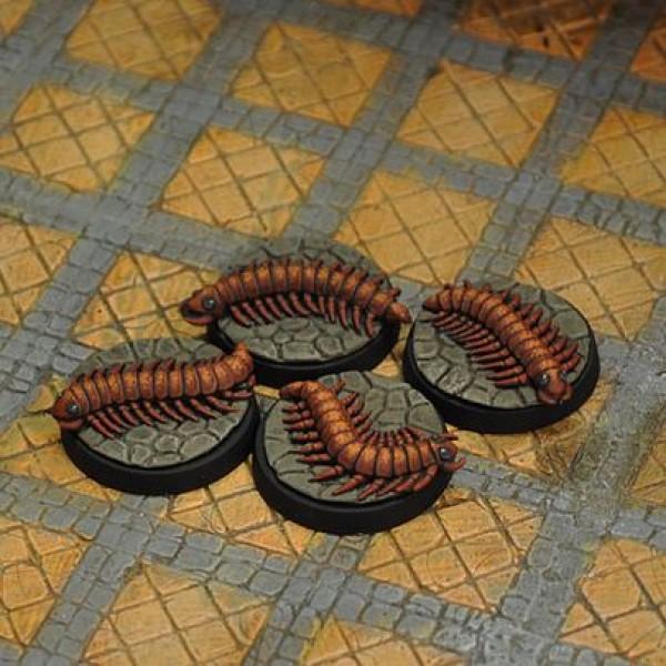 Otherworld Miniatures - Giant Centipedes (4)
