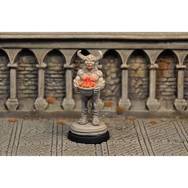 Otherworld Miniatures - Demon Statue, inanimate v1