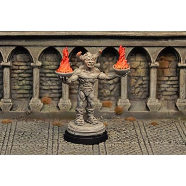 Otherworld Miniatures - Demon Statue, inanimate v2