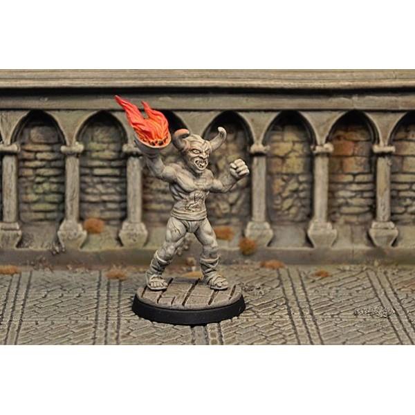 Otherworld Miniatures - Demon Statue, animated v1