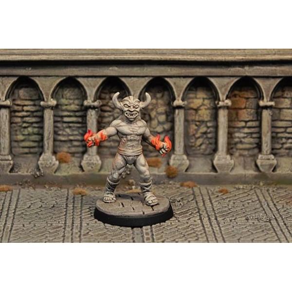 Otherworld Miniatures - Demon Statue, animated v2