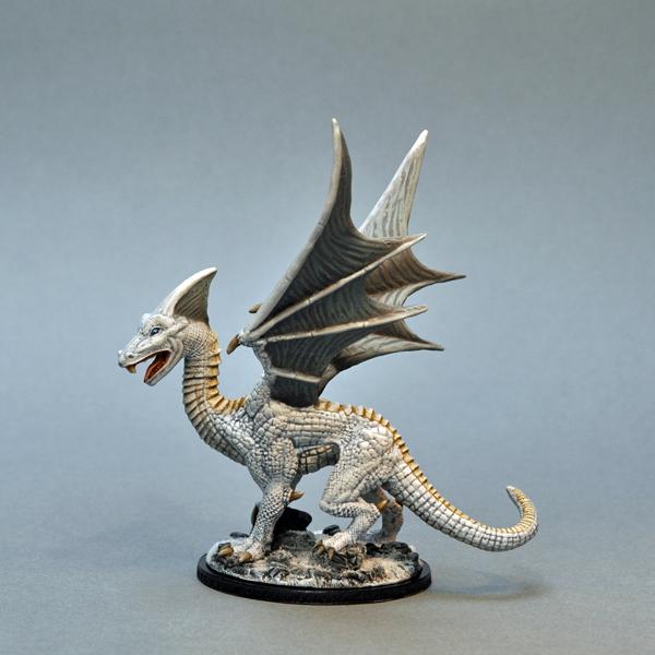 Otherworld Miniatures - White Dragon
