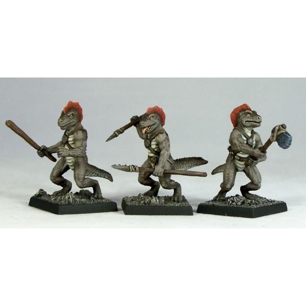 Otherworld Miniatures - Troglodytes I (3)