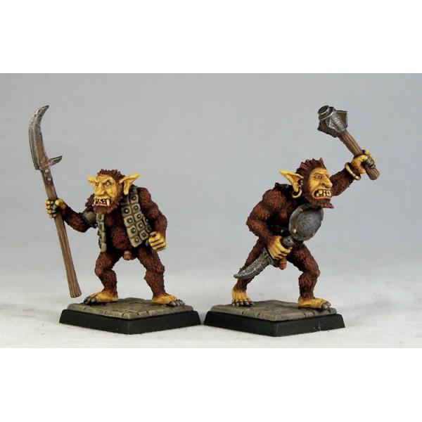Otherworld Miniatures - Bugbear Warriors I (2)
