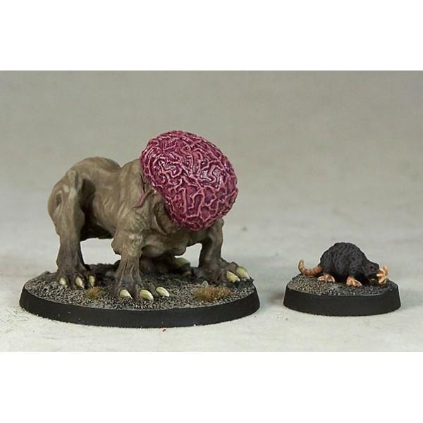 Otherworld Miniatures - Intellect Devourer & Brain Mole