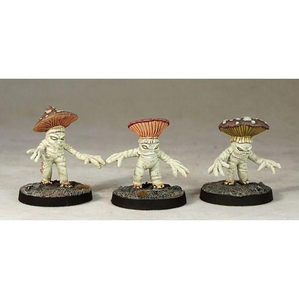 Otherworld Miniatures - Lesser Myconids (3)