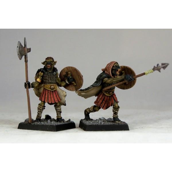 Otherworld Miniatures - Gnoll Warriors III (2)