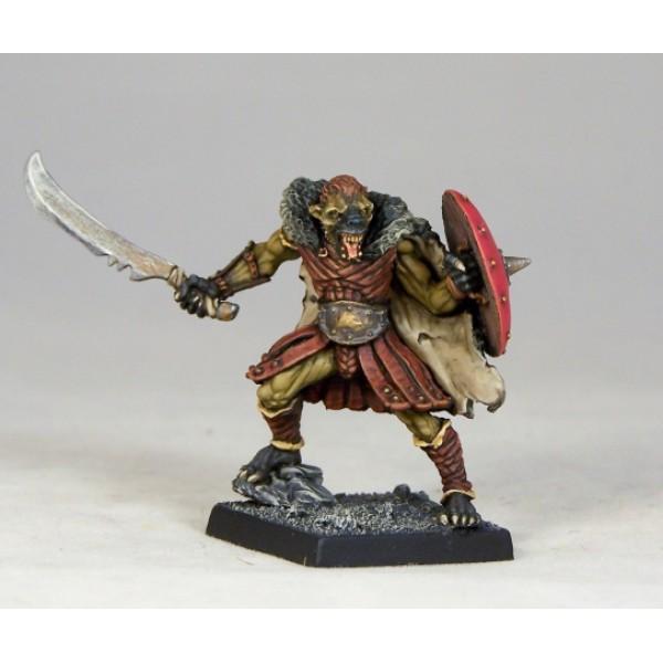 Otherworld Miniatures - Gnoll Chieftain