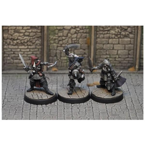 Otherworld Miniatures - Drow Warriors 1 (3)