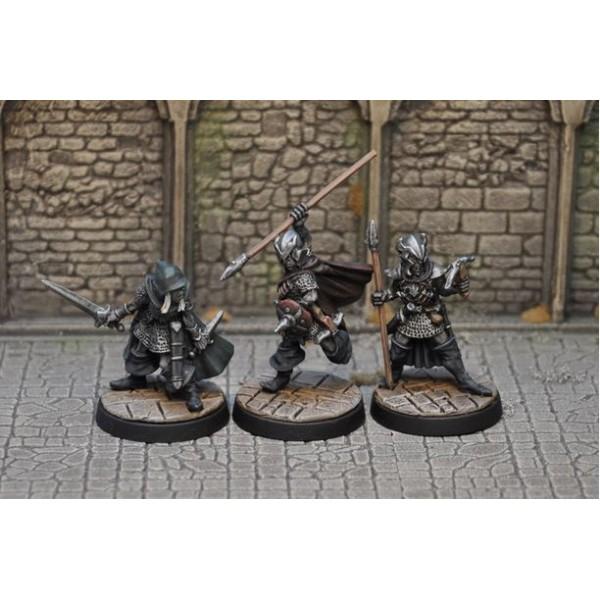 Otherworld Miniatures - Drow Warriors II (3)