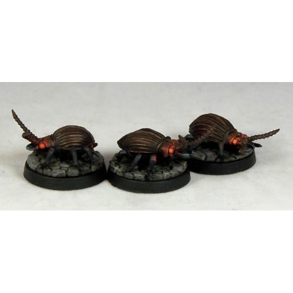 Otherworld Miniatures - Fire Beetles (3)
