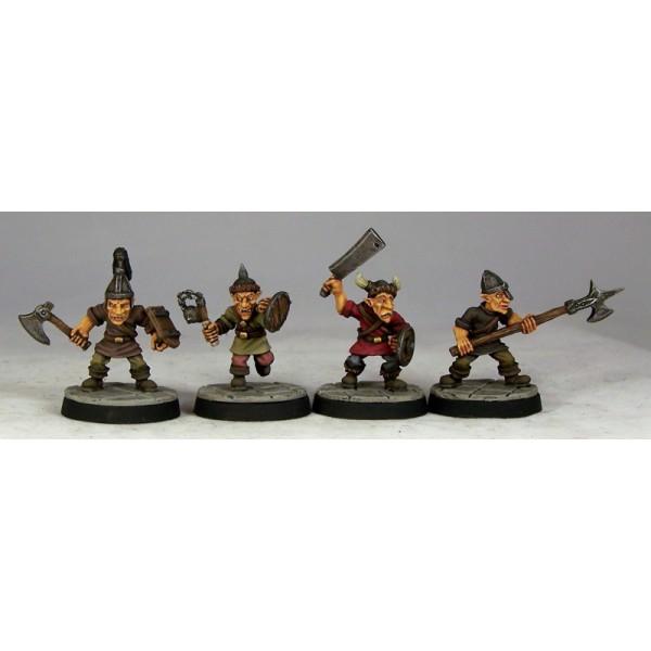Otherworld Miniatures - Goblin Warriors II (4)
