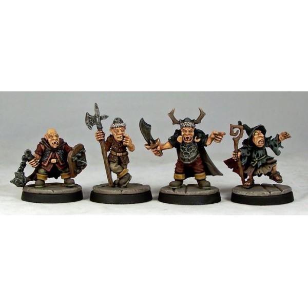 Otherworld Miniatures - Goblin Command (4)