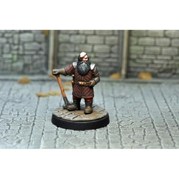Otherworld Miniatures - Dwarf Mercenary v1