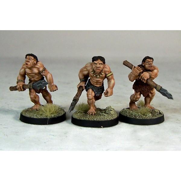 Otherworld Miniatures - Caveman Warriors I (3)