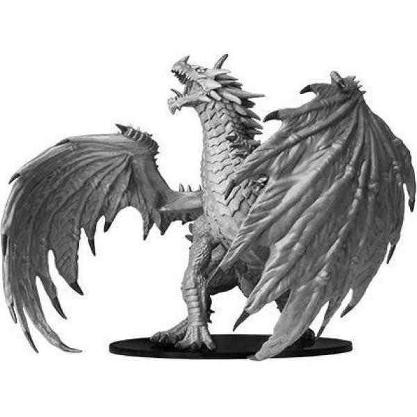 Pathfinder - Deep Cuts Unpainted Miniatures: Gargantuan Red Dragon