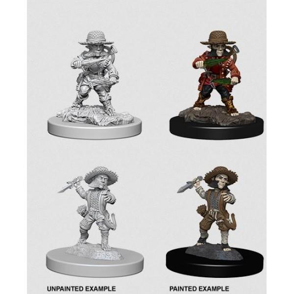 Pathfinder - Deep Cuts Unpainted Miniatures: Halfling Male Rogue