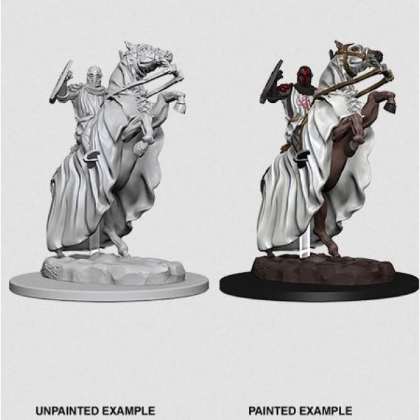 Pathfinder - Deep Cuts Unpainted Miniatures: Knight on Horse