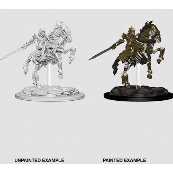 Pathfinder - Deep Cuts Unpainted Miniatures: Skeleton Knight on Horse