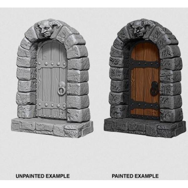 Pathfinder - Deep Cuts Unpainted Miniatures: Doors