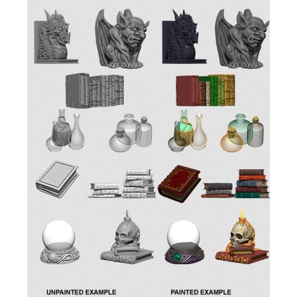 Pathfinder - Deep Cuts Unpainted Miniatures: Wizards Room