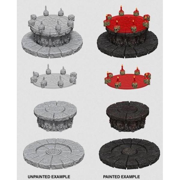 Pathfinder - Deep Cuts Unpainted Miniatures: Magic Dias