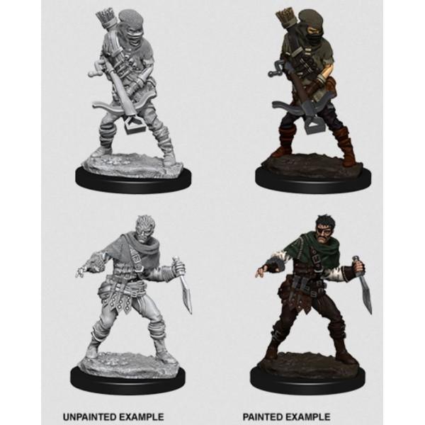 Pathfinder - Deep Cuts Unpainted Miniatures: Bandits