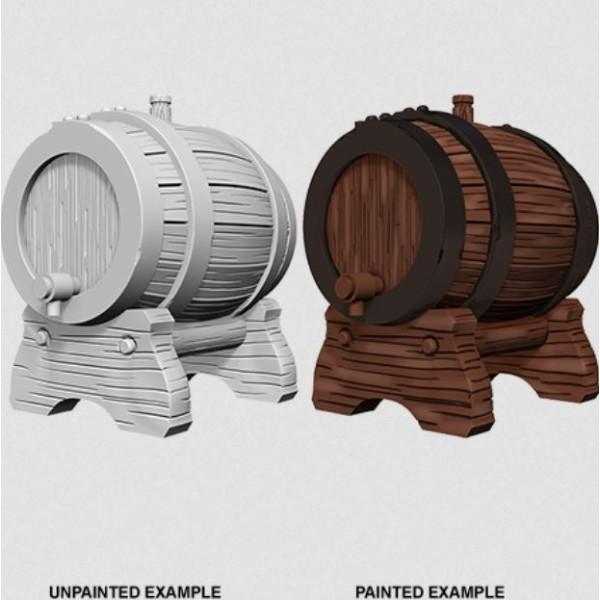 Pathfinder - Deep Cuts Unpainted Miniatures: Keg Barrels