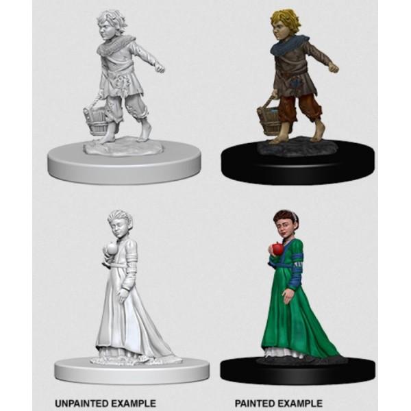 Pathfinder - Deep Cuts Unpainted Miniatures: Children