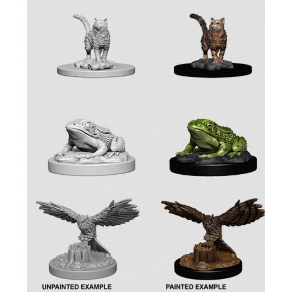 Pathfinder - Deep Cuts Unpainted Miniatures: Familiars II