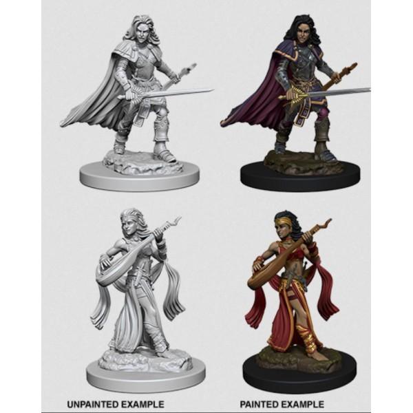 Pathfinder - Deep Cuts Unpainted Miniatures: Human Female Bard