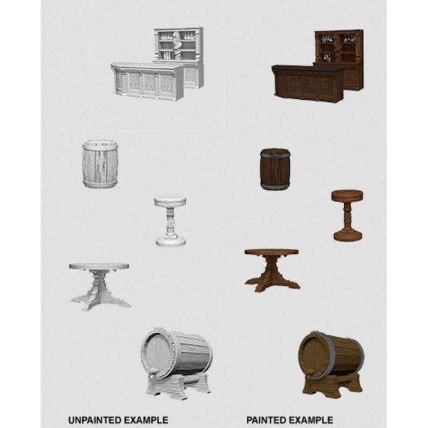 Pathfinder - Deep Cuts Unpainted Miniatures: Rusty Dragon Bar