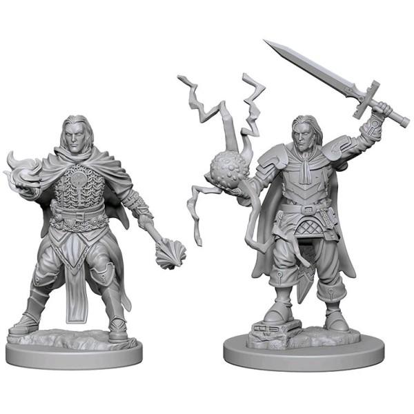 Pathfinder - Deep Cuts Unpainted Miniatures: Human Male Cleric