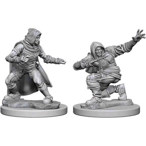 Pathfinder - Deep Cuts Unpainted Miniatures: Human Male Rogue