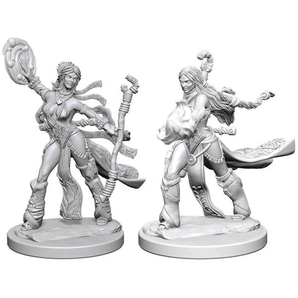 Pathfinder - Deep Cuts Unpainted Miniatures: Human Female Sorcerer