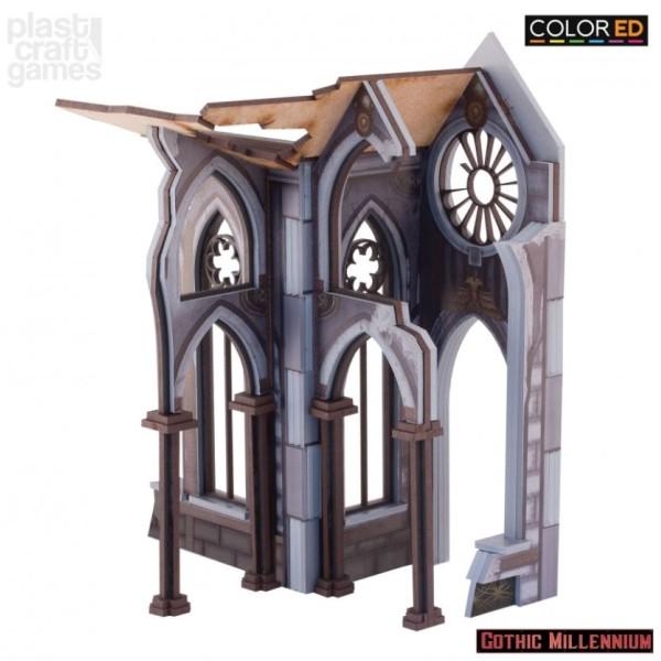Plast Craft - Gothic Millenium - Cathedralis side porch