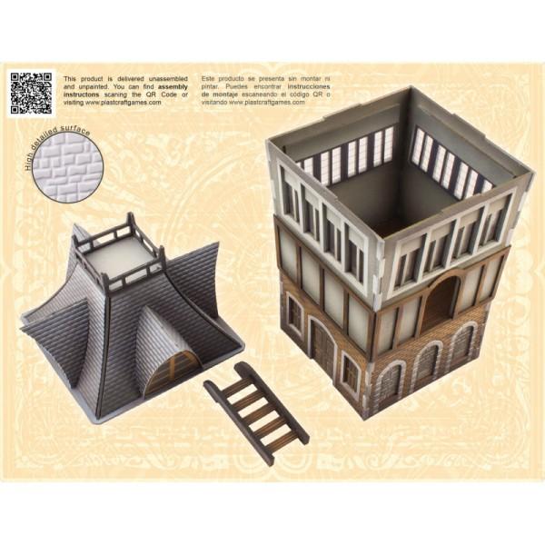 Plast Craft Malifaux Scenery - The Tower