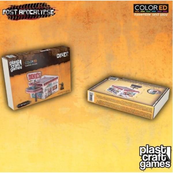 Plast Craft Games - Post Apocalypse - Diner (Color ED)
