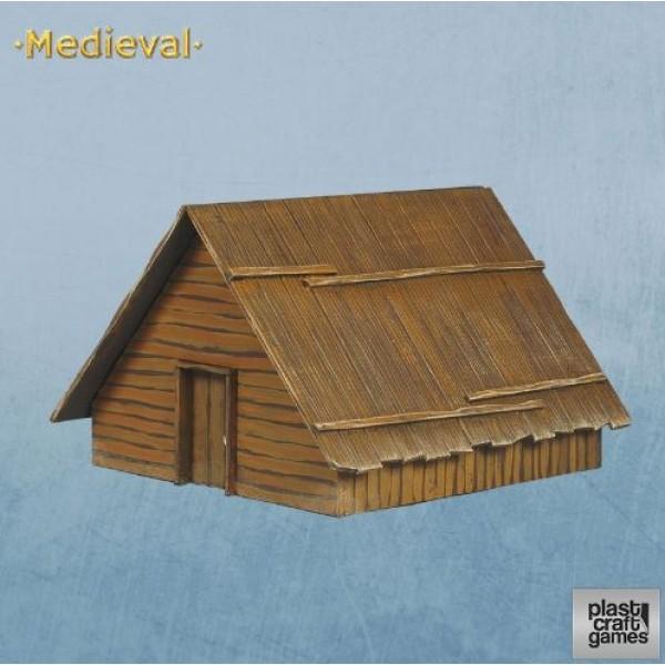 Plast Craft Games - Medieval - Medieval Hut