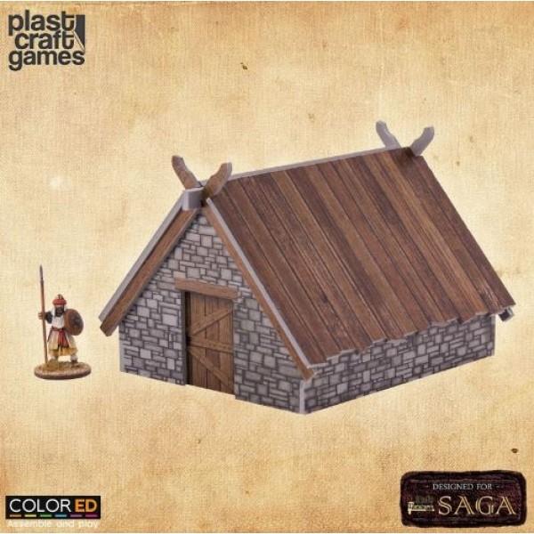 Plast Craft Games - Medieval - Pit House (Color ED)