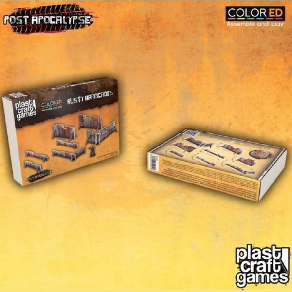 Plast Craft Games - Post Apocalypse - Rusty Barricades (Color ED)