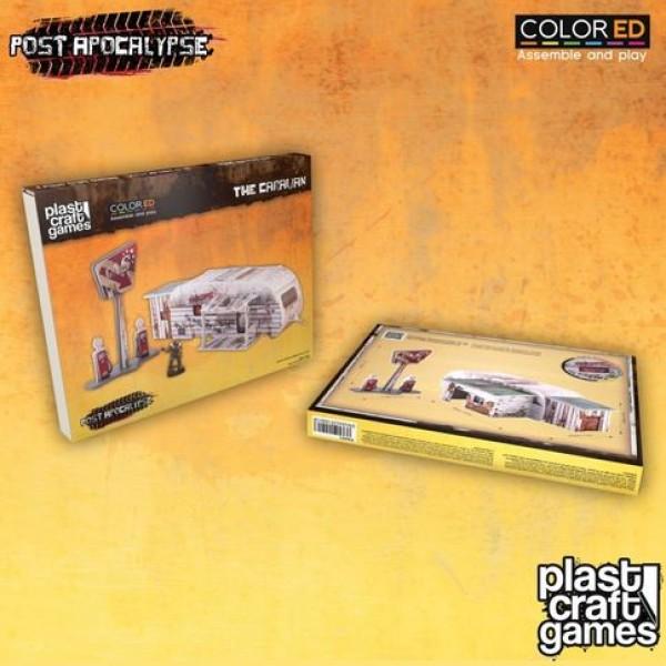 Plast Craft Games - Post Apocalypse - The Caravan (Color ED)