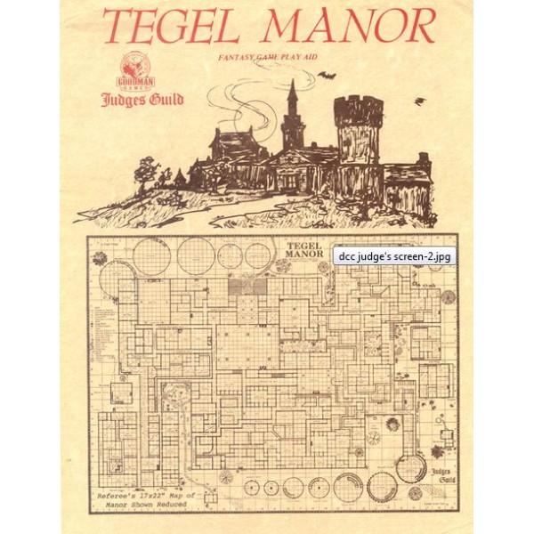 Goodman Games - Judges Guild Classic Reprint: Tegel Manor (1E Adventure)