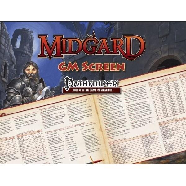 Kobold Press - Midgard - Pathfinder RPG - GM Screen