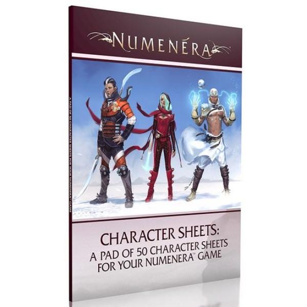 Numenera - Character Sheets